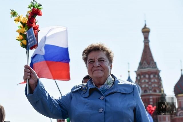 Первомай в Москве: приветы с Красной площади