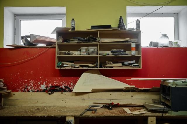 Восстановить мастерскую помогли люди из разных уголков нашей страны