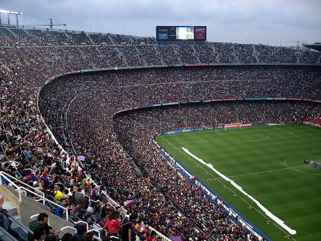 Стадион «Камп Ноу». Барселона