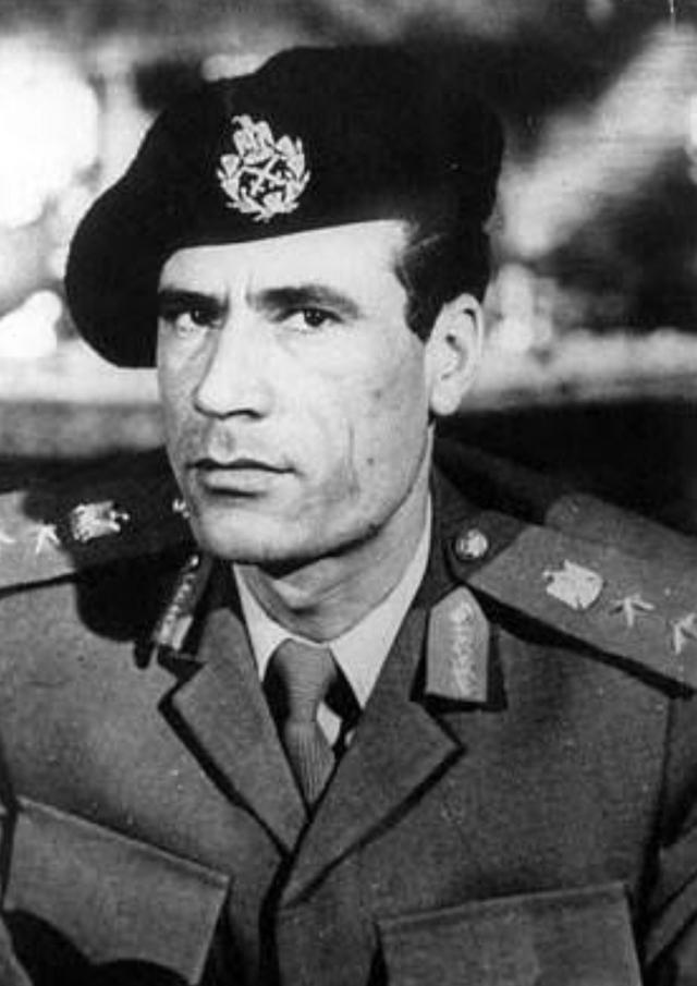 Муаммар Каддафи. 1972