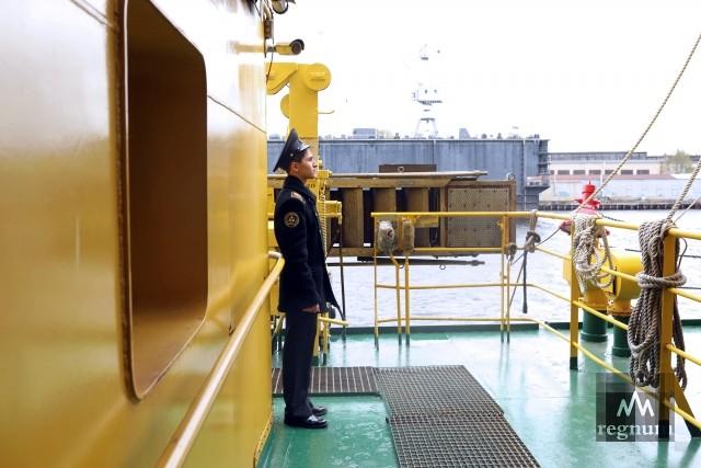 Курсант на ледоколе «Капитан Сорокин»