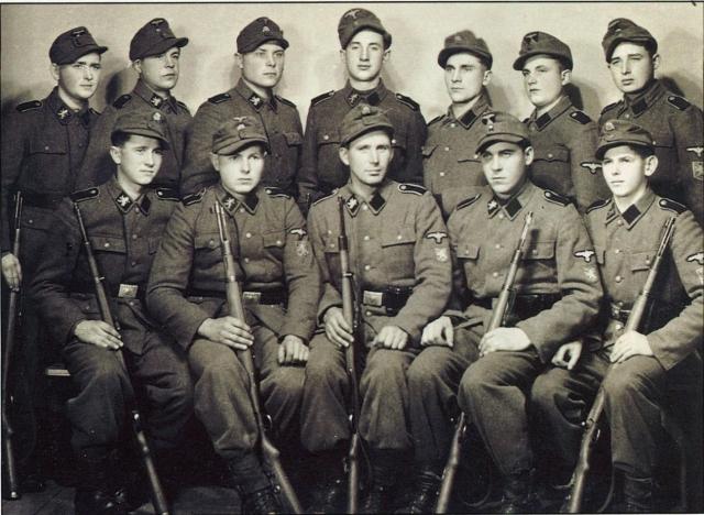 Украинские коллаборационисты из дивизии СС «Галичина»