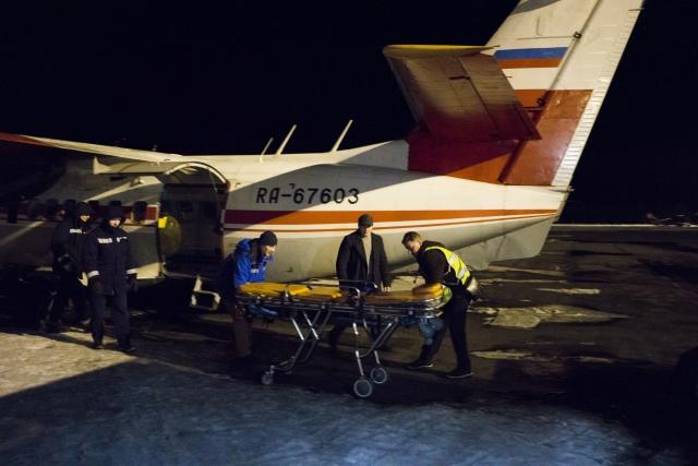 В этот раз на борту разместят сразу двух взрослых пациентов, значит, в самолете будет тесно
