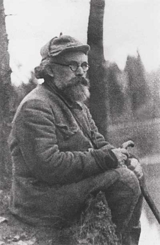 М.М. Пришвин в поездке по Северной Двине и Пинеге. 1935 г