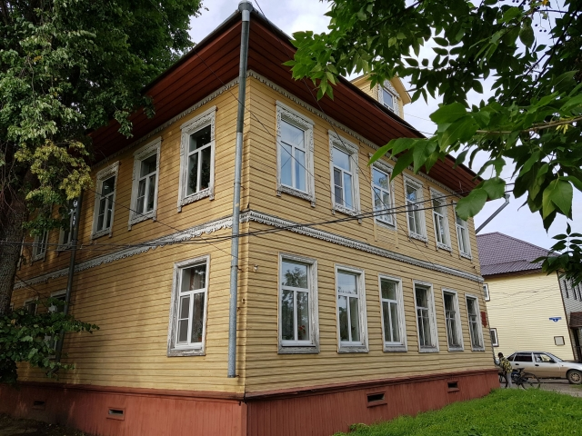 Современная верхнетоемская гостиница