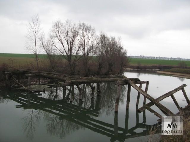 Рекорд в Стратегии развития Юга России: в Каменске-Шахтинском лопнул мост