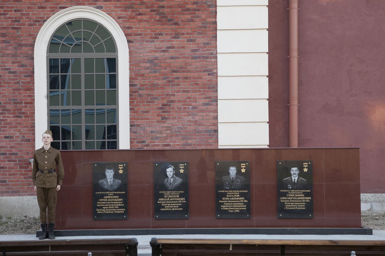 Многие выпускники суворовского училища погибли при исполнении воинского долга