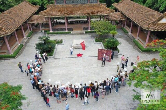 «Бессмертный полк» в Гуанчжоу