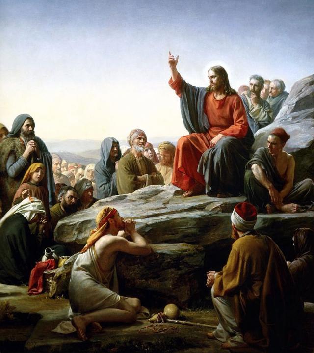Карл Генрих Блох. Нагорная проповедь. 1877
