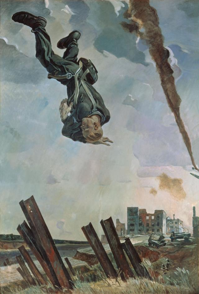 Александр Дейнека. Сбитый ас. 1943