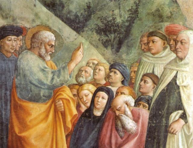 Организация Церкви начинается с апостольства и социального служения