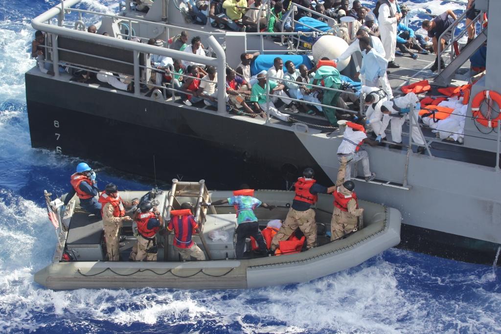 Беженцы из Африки