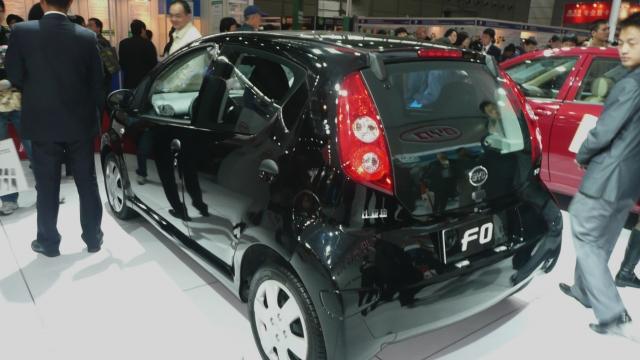 Китайский автогигант BYD отчитался о падении продаж бензиновых автомобилей