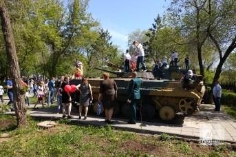 Нашествие в парке «Салют, Победа!»