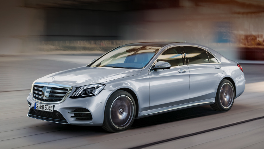 Седан Mercedes-Benz S-класса