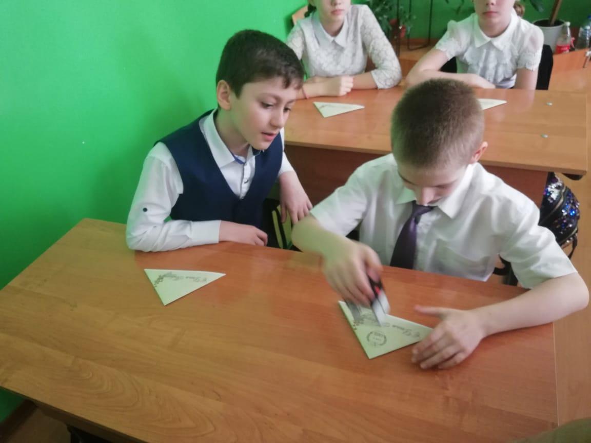 Почтовики провели образовательные мастер-классы «Фронтовые письма»