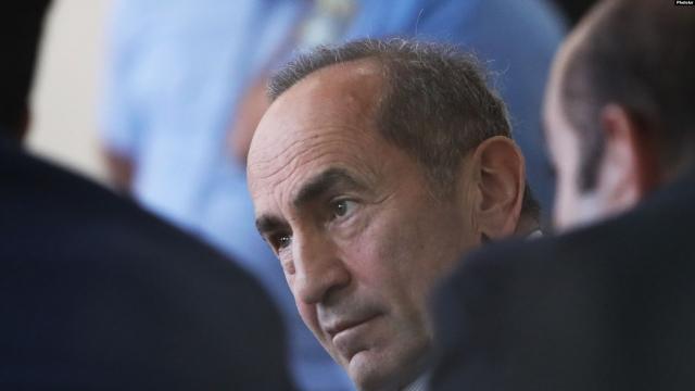 Начался судебный процесс по делу экс-президента Армении Кочаряна
