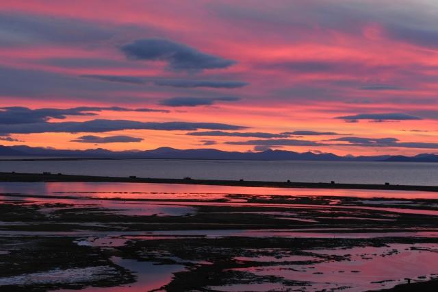 Закат в Мечигменском заливе