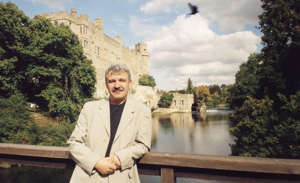 Замок Уорвик на Эйвоне, стажировка в Великобритании осенью 2002 г