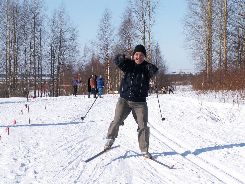 Вспоминая студенческую лыжню