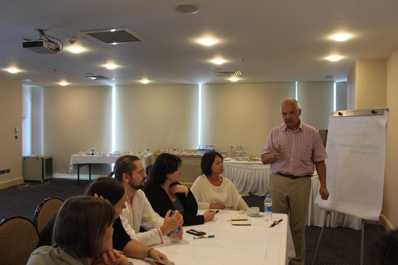 Стамбул, июнь 2015 г. «Диалог Украина-Россия», презентация проекта «Критическое мышление для гражданского общества»