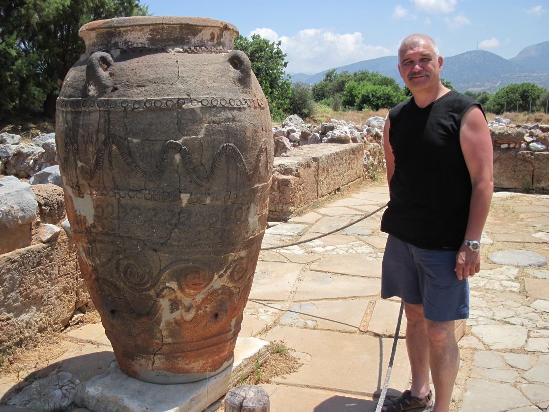 Крит, июль 2010 г. Сбылась мечта студента-историка