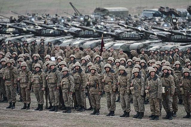 Армия. Нагорный Карабах