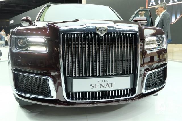 В России завершены заводские испытания кабриолетов Aurus