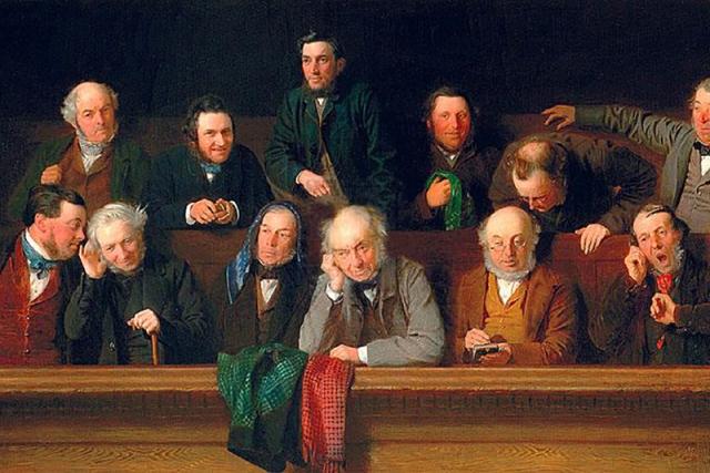 Джон Морган. Скамья присяжных заседателей