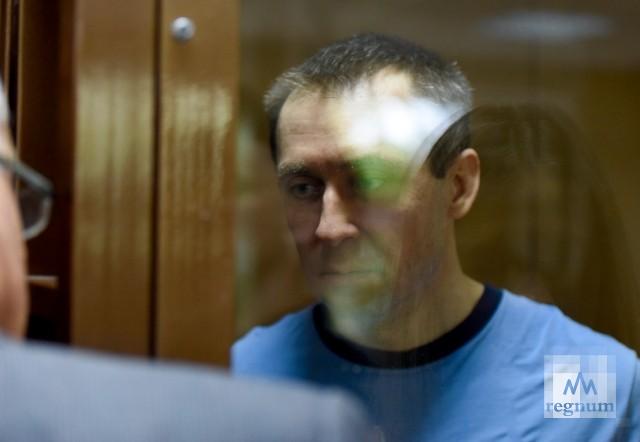 Полковник Захарченко в зале суда обратился к Мамаеву и Кокорину