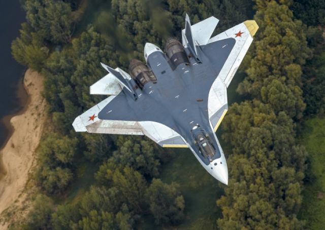 Владимир Путин заявил о контракте на 76 новейших истребителей Су-57
