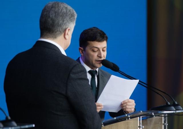 «Большая семерка» потребовала от Порошенко передать власть Зеленскому