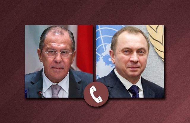 Лавров провёл телефонный разговор с главой МИД Белоруссии Макеем
