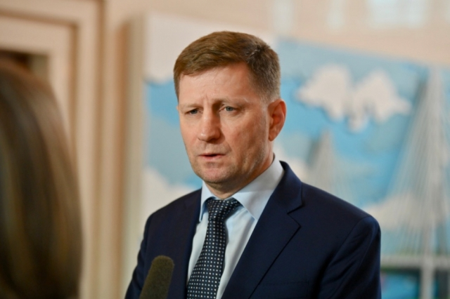 Губернатор Хабаровского края Фургал в 2018 году заработал 5,5 млн рублей