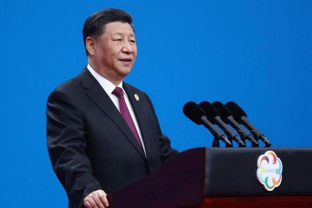 Председатель КНР Си Цзиньпин на церемонии открытия Конференции по диалогу между цивилизациями Азии