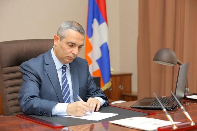 Министр иностранных дел Нагорно-Карабахской республики (Республики Арцах) Масис Маилян