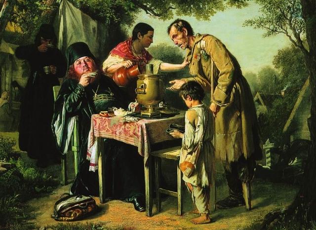 О зарплате якутян: Вася кушает мясо, Петя — капусту, а в среднем — голубцы