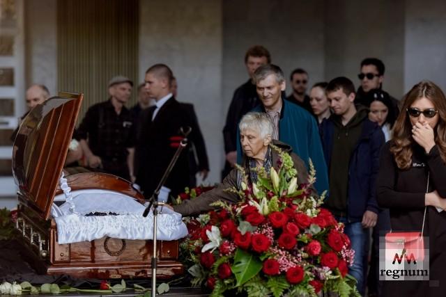 В Москве началось прощание с Сергеем Доренко