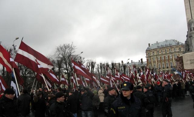 Латышские правые радикалы