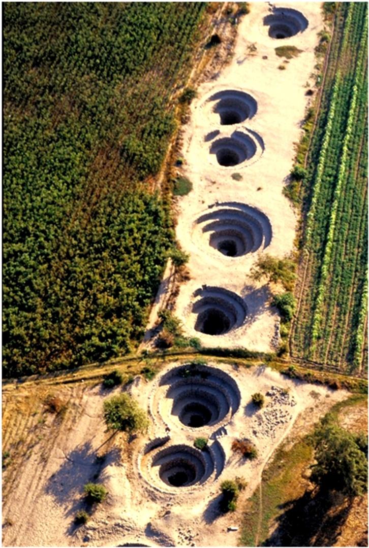 Рис. 2. Подземный водопровод Наска