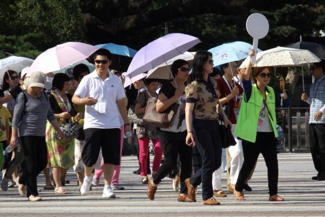 В Швейцарию приехала крупнейшая группа туристов из Китая