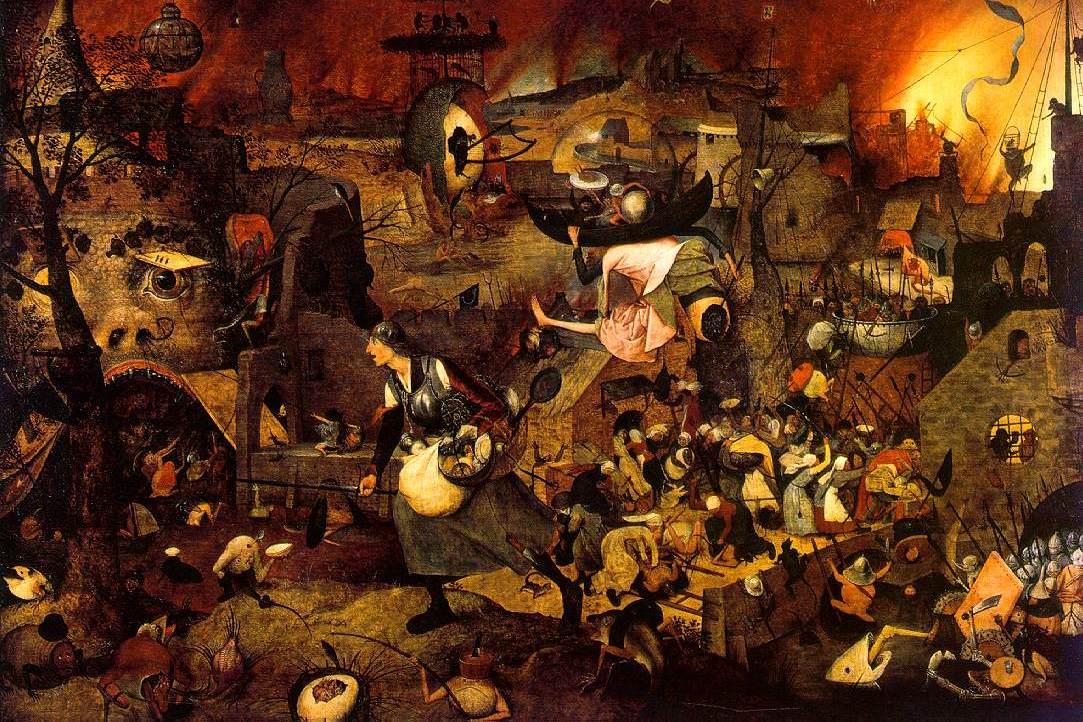 Питер Брейгель Старший. Безумная Грета. 1562