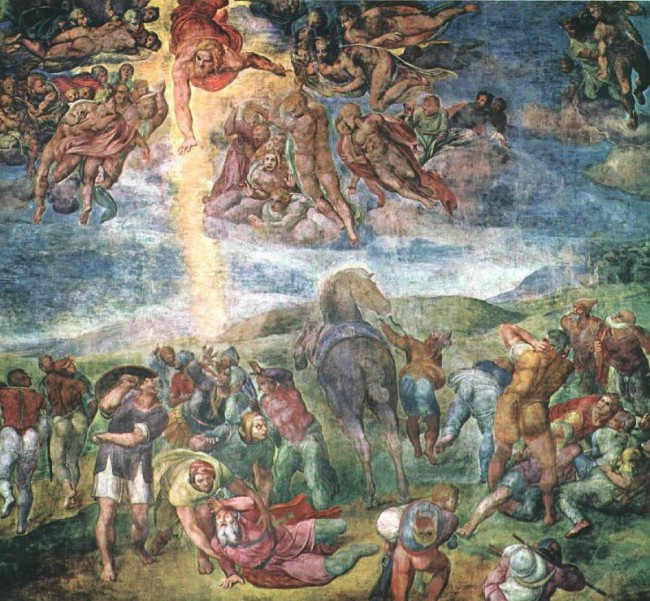 Обращение апостола Павла. Микеланджело