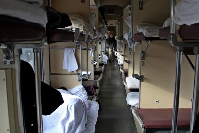 Массовая драка произошла в поезде Новосибирск — Барнаул