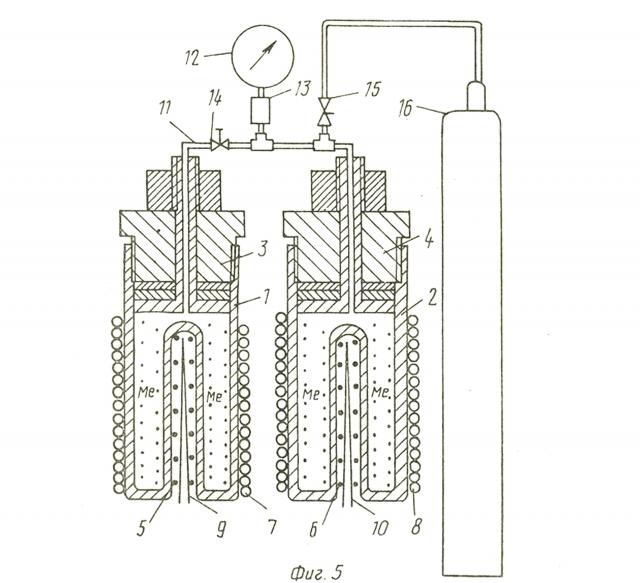 Рис. 1. Схема устройства по патенту РФ №2056656 (пояснения в тексте)