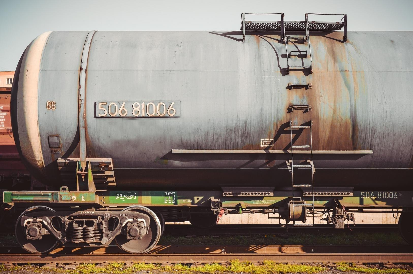 Цистерна для транспортировки нефти