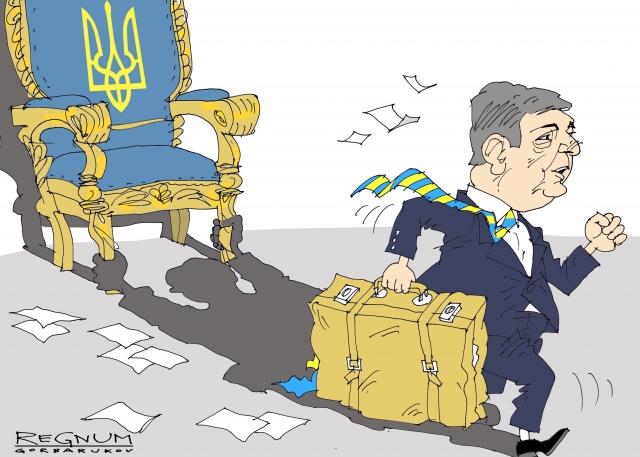 Bloomberg: За пять лет президентства Порошенко обеднел на 40%