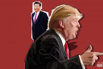 Трамп хочет сказать Си где его место, но