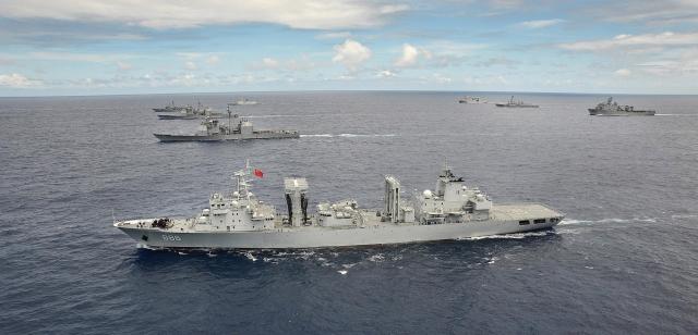 ВМС Китая по численности превзошли ВМС США