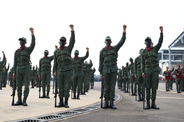 Мадуро призвал военных задерживать предателей в своих рядах
